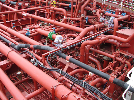 Chemical Tanker Piping