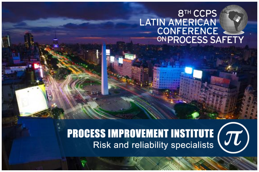 PII-8th CCPS Latin American Conference on Process Safety 2018
