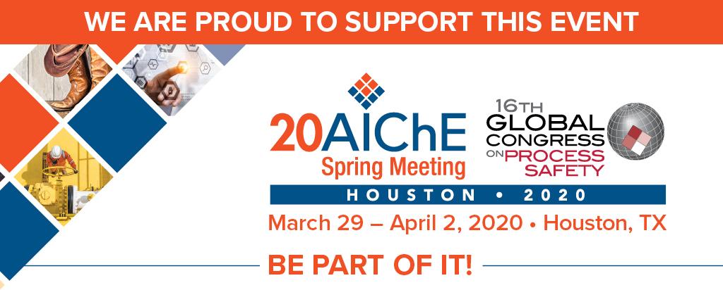 AIChE Spring Meeting & GCPS 2020