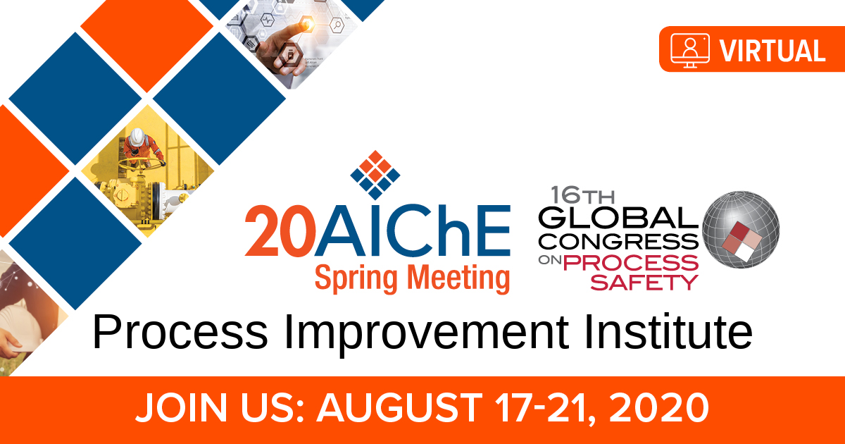 AIChE Spring Meeting & GCPS 2020