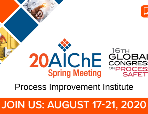 2020 AIChE Virtual Spring Meeting/16th GCPS – Day 4 | 8/20/20